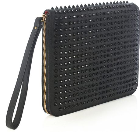 Christian Louboutin Cris Paris Document Case in Black for Men - Lyst