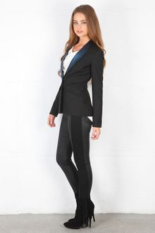 Elizabeth And James Metallic Rex Tux Blazer - Lyst