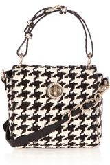 Karen Millen Mini Pony Satchel in Black - Lyst