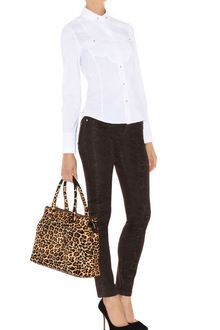 Karen Millen Signature Cotton Shirt - Lyst