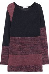 See By Chloé Cottonblend Openknit Sweater Dress - Lyst