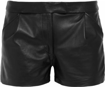 Kelly Bergin Leather Shorts - Lyst