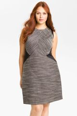 Kenneth Cole Isabella Twisted Yarn Sheath Dress - Lyst