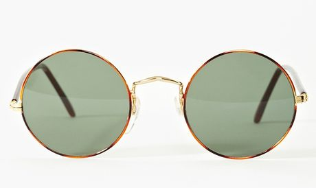 Nasty Gal Joplin Shades in Gold - Lyst