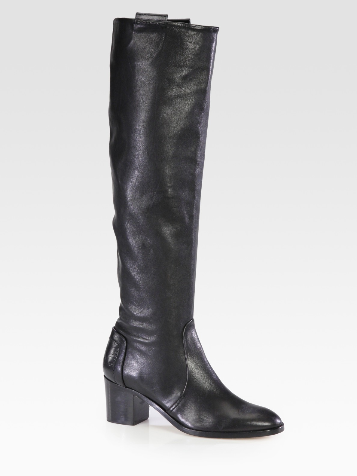 recommend sale online free shipping sast Reed Krakoff Leather Knee-High Boots eastbay cheap online eastbay cheap price Gtf4f5