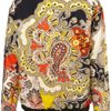Topshop Cleo Paisley Bomber Jacket in Multicolor (multi) - Lyst