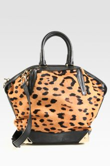 Alexander Wang Emile Haircalf Satchel - Lyst