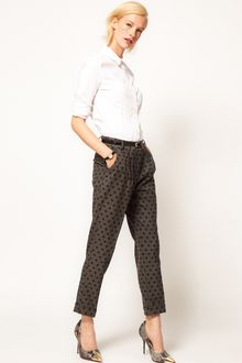 ASOS Collection Asos Spot Peg Trouser - Lyst