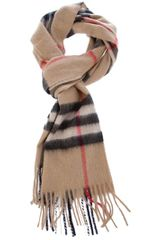Burberry Brit Giant Check Scarf - Lyst
