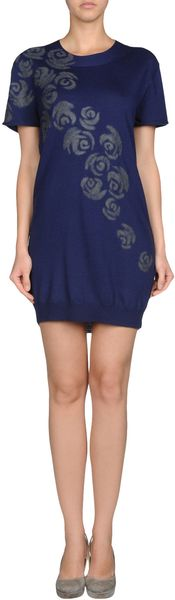 Cacharel Short Dress - Lyst