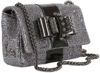 Christian Louboutin Sweety Charity Glitter Shoulder Bag - Lyst