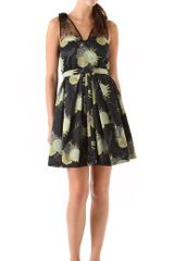 Jill Stuart Madison Silk Dress - Lyst