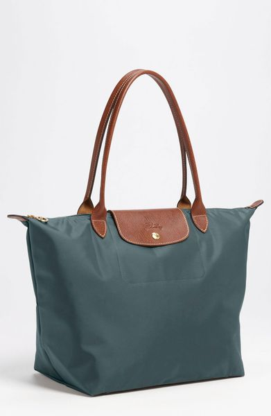 Longchamp Le Pliage Large Tote in Blue (duck blue) - Lyst