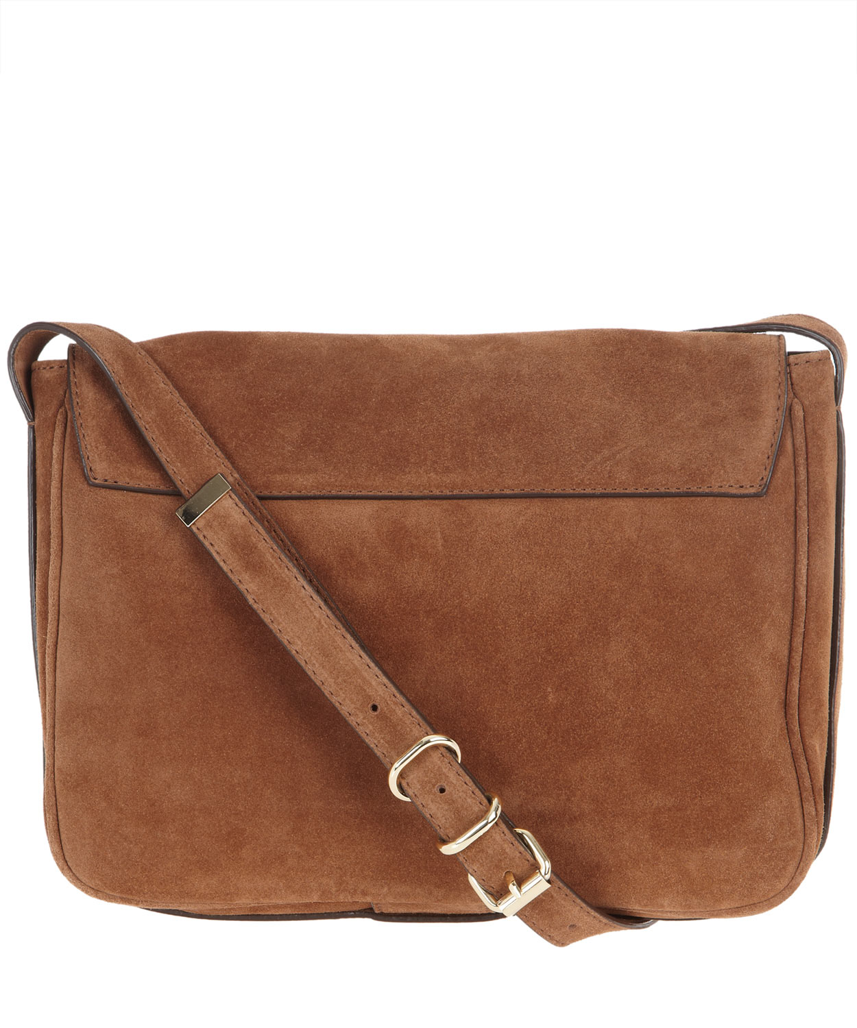 Tila march Tan Manon Suede Shoulder Bag in Brown | Lyst