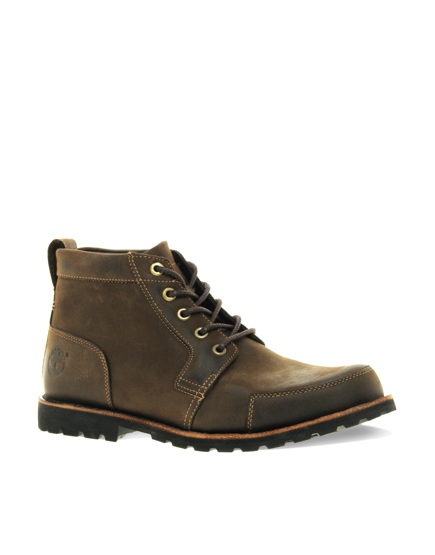 timberland earthkeeper rugged chukka boots in brown for