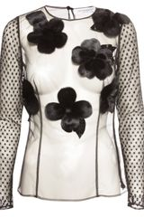 Viktor & Rolf Flower Top Black
