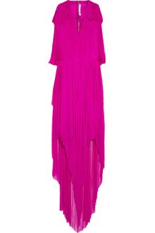 Willow Draped Silk Tulle Dress - Lyst