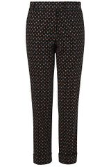 Boutique By Jaeger  Moira Floral Cord Trousers  - Lyst
