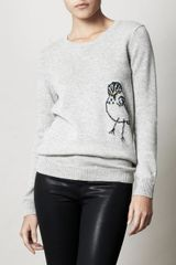 Burberry Prorsum Bird Intarsia Knit Sweater - Lyst