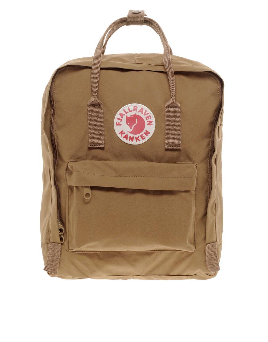 Fjallraven Kanken Backpack In Brown For Men Lyst