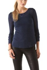 Free People Burnout Long Sleeve Layering Top - Lyst