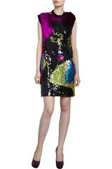 Lanvin Party Lady Dress - Lyst