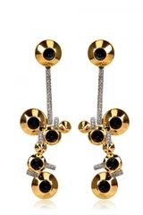Lara Bohinc Eye Chandelier Earrings - Lyst