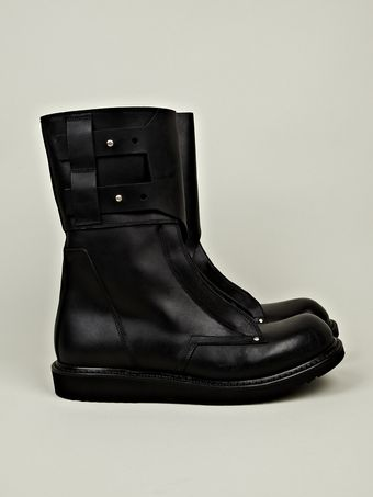 Rick Owens Military Boot - Lyst