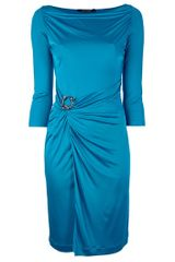 Roberto Cavalli Torc Detail Dress - Lyst