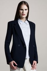 Theyskens' Theory Doublebreasted Onebutton Jacket - Lyst