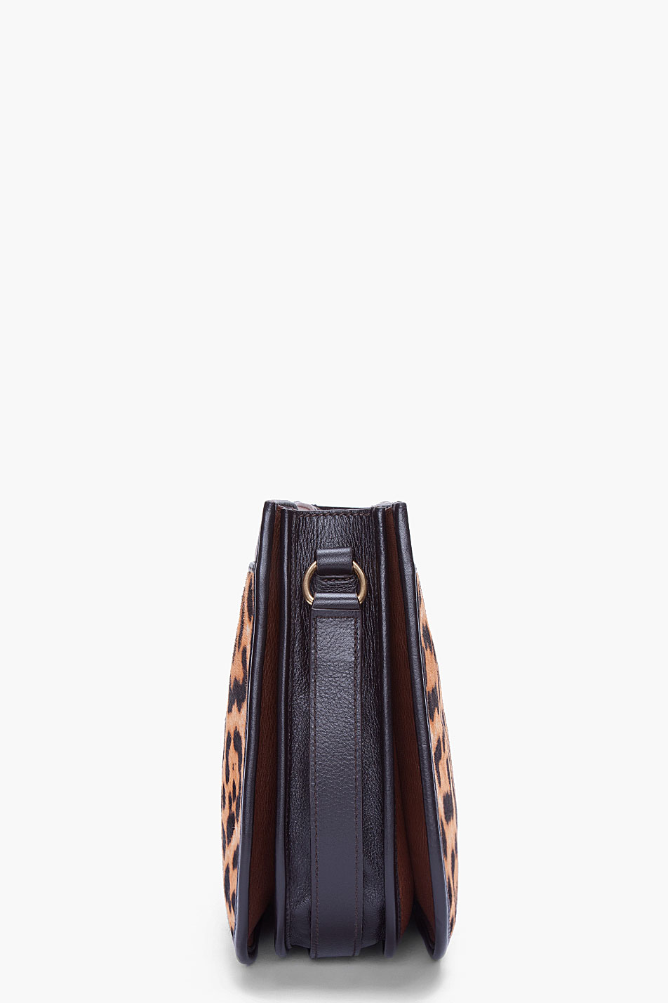 Yves Saint Laurent Leopard Print Shoulder Bag Yves Saint