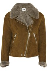 Acne Rita Shearling Jacket - Lyst