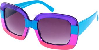ASOS Collection Asos Color Block Sunglasses - Lyst
