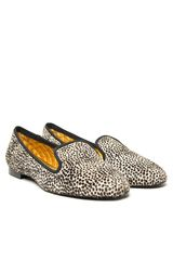 Avec Moderation Leopard Print Smoking Slipper in Animal (leopard) - Lyst