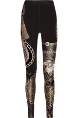 Emma Cook Printed Stretch Jersey Leggings