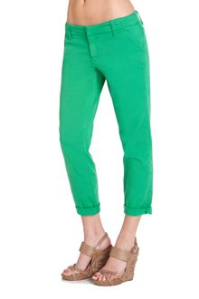 Genetic Denim Prep Slouchy Chino Lime - Lyst