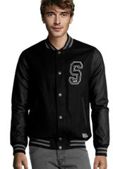 H&m Jacket in Black for Men - Lyst