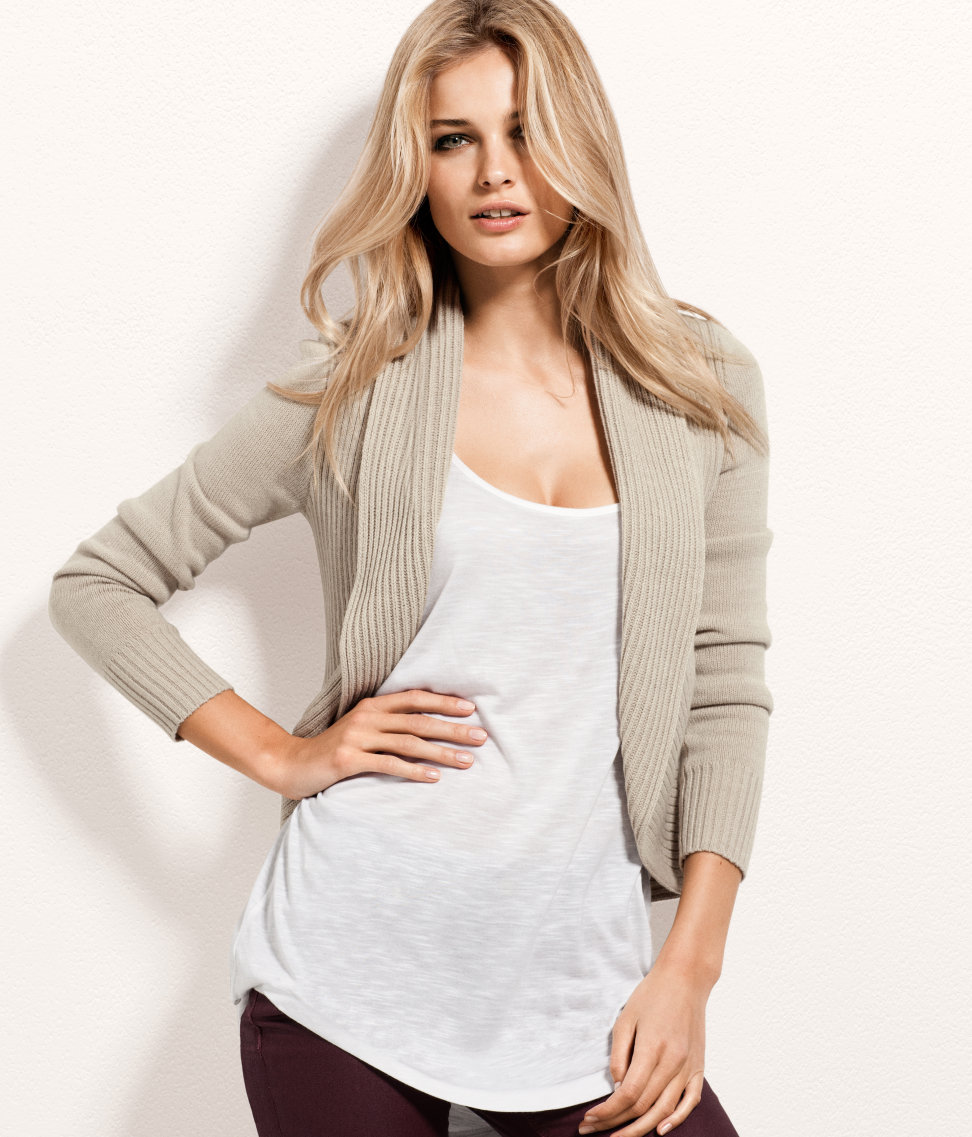 H&m Cardigan With A Shawl Collar in Gray