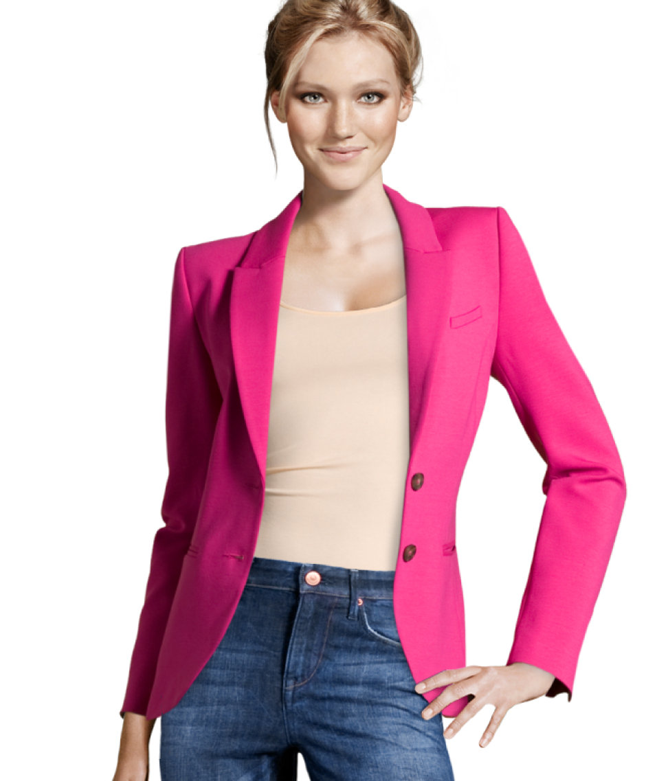 H&m Jacket in Pink | Lyst