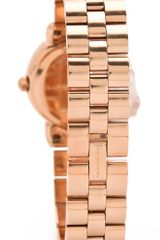 Marc By Marc Jacobs Mini Marci Mirror Watch in Gold (rose) - Lyst