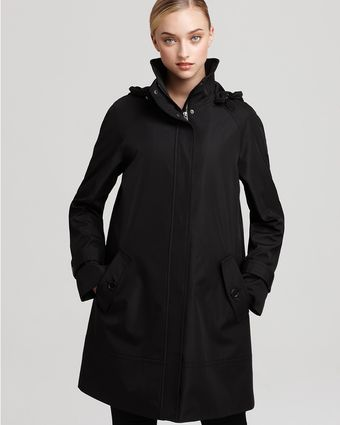 Marc New York A Line Zip Front Raincoat - Lyst