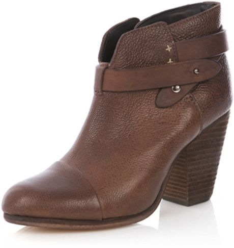 Rag & Bone Harrow Boot in Continuous Brown in Brown - Lyst