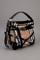 Burberry Bridal House Tote in Brown (black) - Lyst