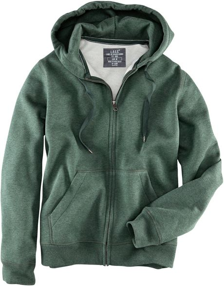 H&m Hooded Jacket in Green