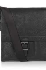 Hugo Boss Leather Messenger Bag - Lyst