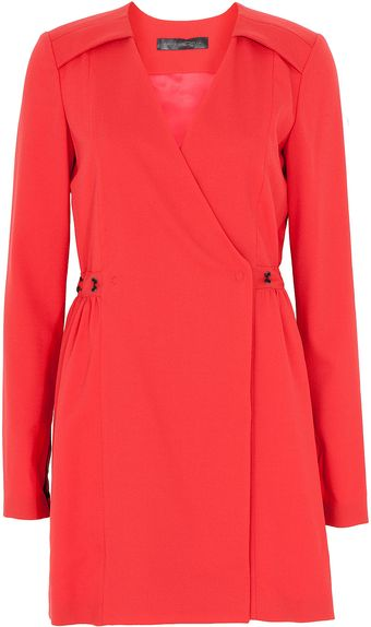 Issa Long Sleeve Wrap Dress - Lyst