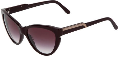 Stella Mccartney Sunglasses in Purple (burgundy) - Lyst