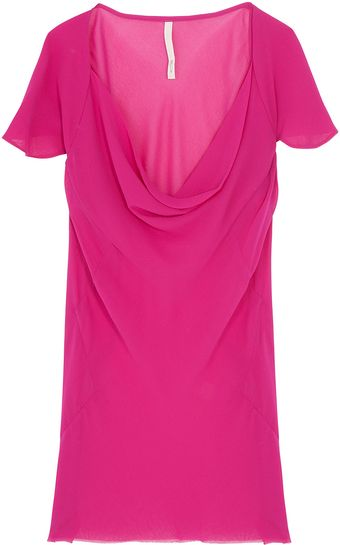 Willow Cap Sleeve Cowl Neck Top - Lyst