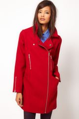 ASOS Collection Asos Biker Cocoon Coat
