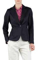 Aspesi Washed Cotton Gabardine Blazer - Lyst